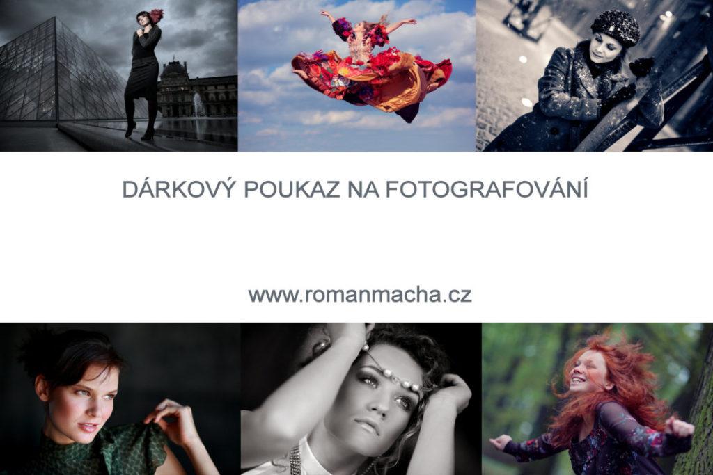 Fotograf Brno - dárkový poukaz