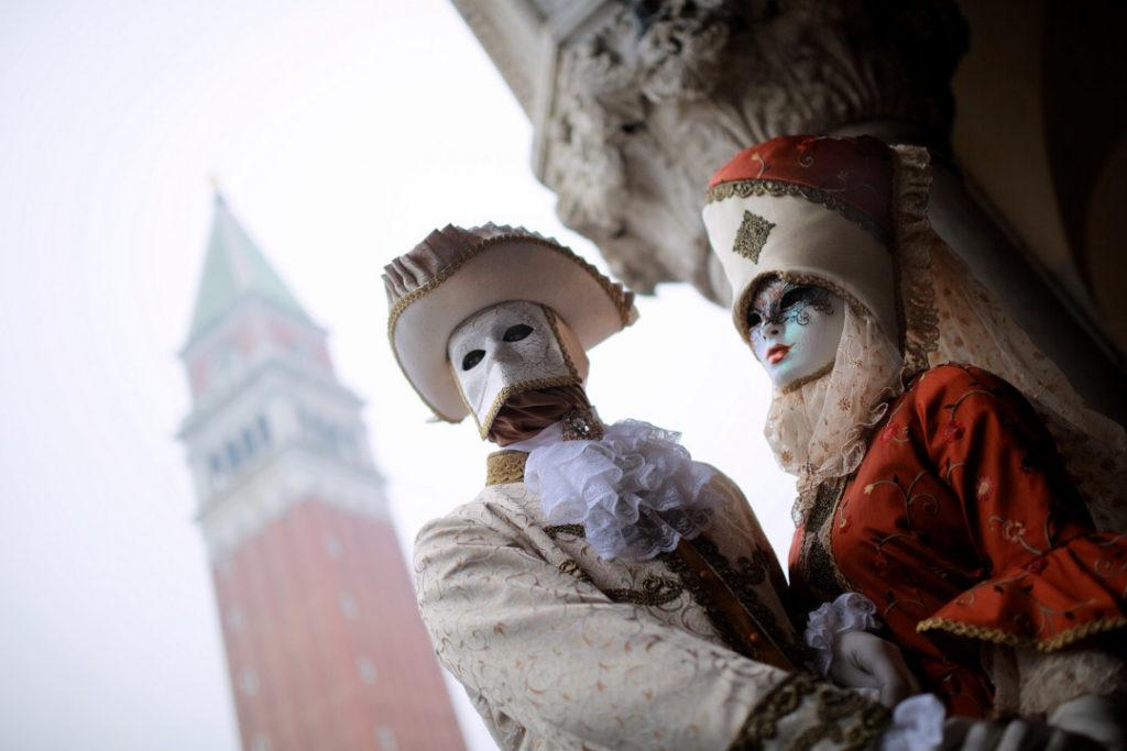 Focení portrétů Benátky