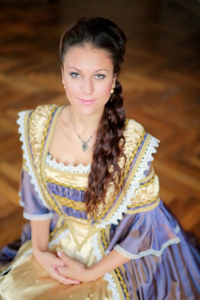 Focení portrétů na zámku